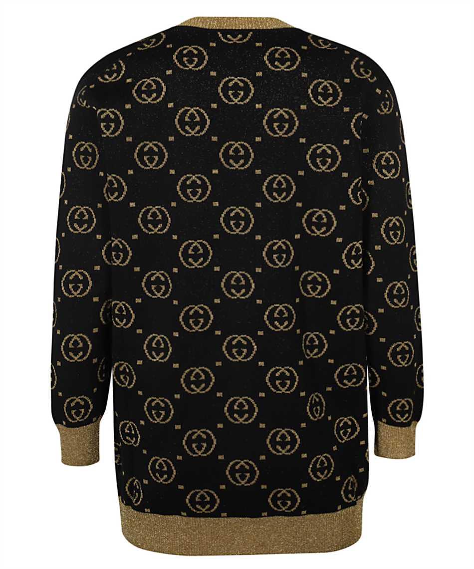 Gucci 555014 XKAH9 GG MOTIF Kardigán 2