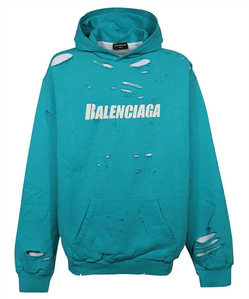 Balenciaga 659403 TKVB6 CAPS DESTROYED Hoodie 1