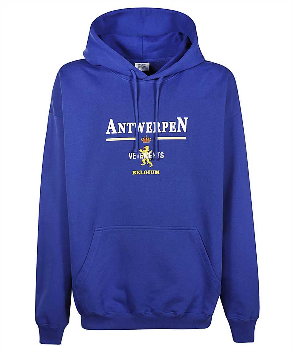 Vetements UE51TR440R ANTWERP LOGO Kapuzen-Sweatshirt 1