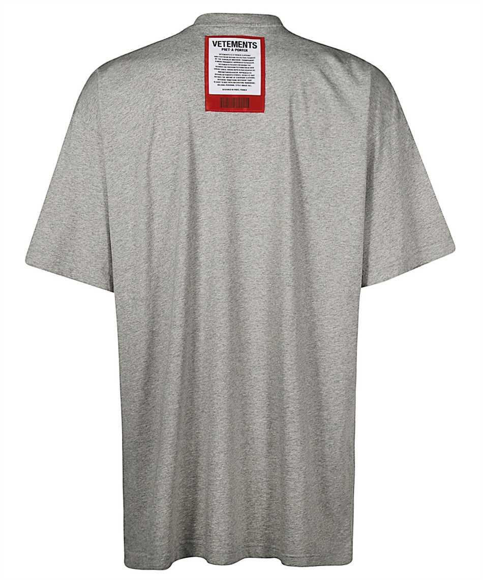 Vetements UE51TR540G LOGO PATCH T-Shirt 2