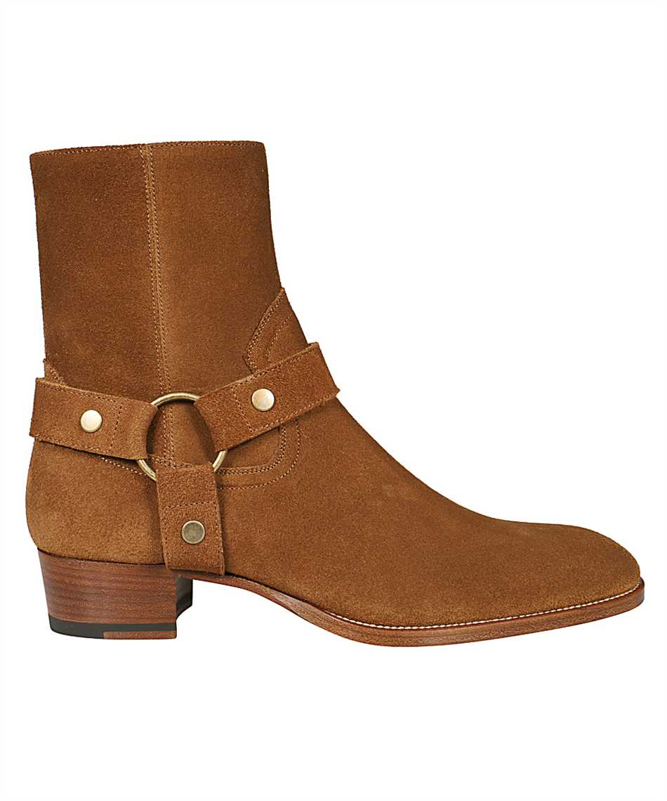 Saint Laurent 443190 BPN00 WYATT HARNESS Boots 1