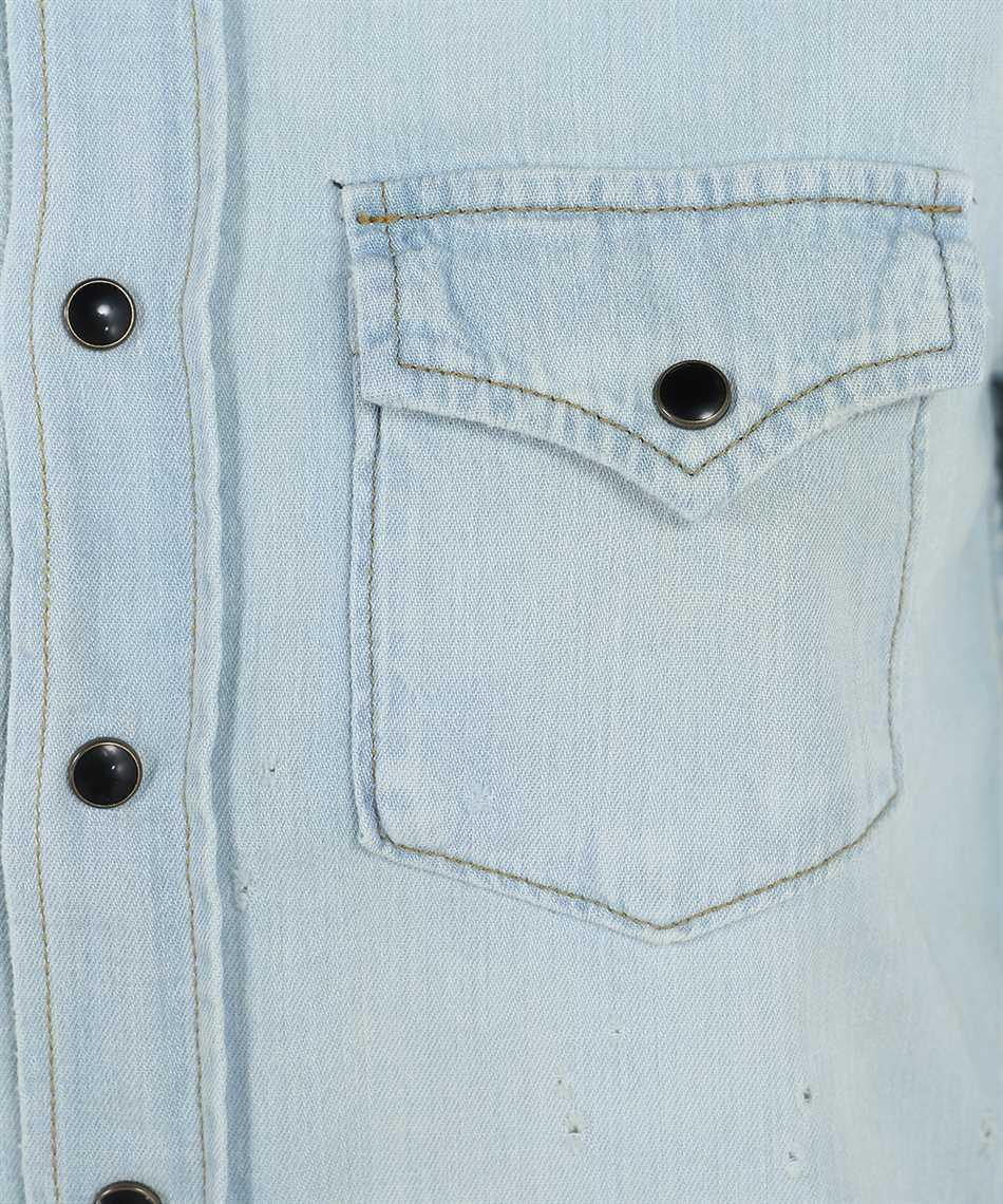 Saint Laurent 651160 Y24AB CLASSIC WESTERN Shirt 3