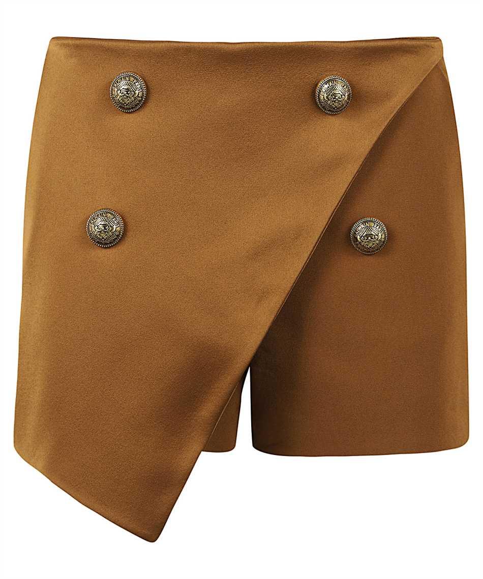 Balmain UF05014V089 HIGH-WAISTED HAZEL Shorts 1