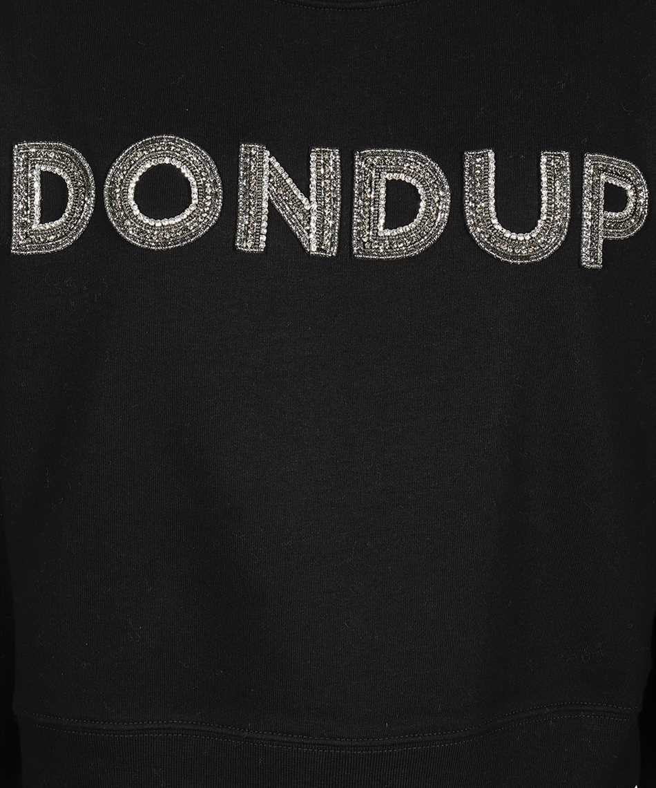 Don Dup F207 KF0136D XXX LOGO PATCH Sweatshirt 3