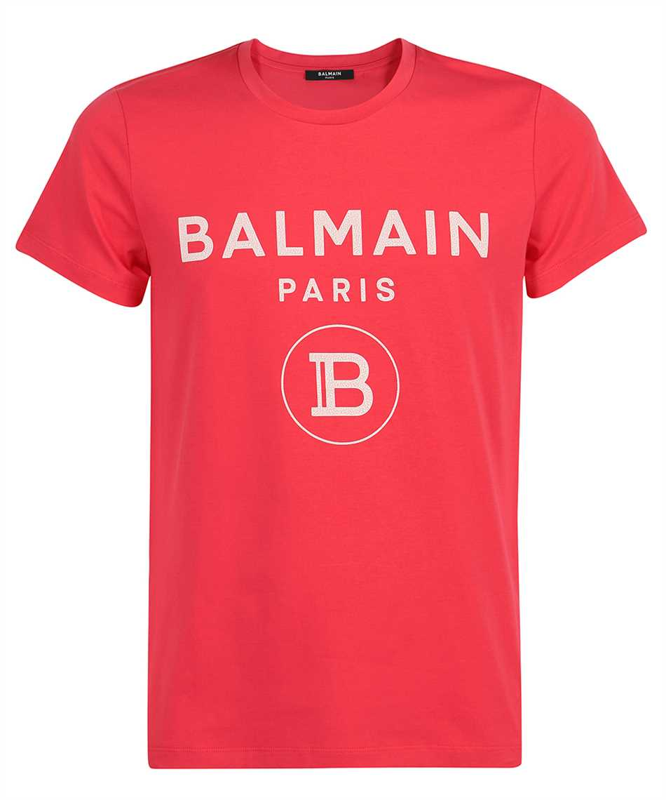 Balmain VH0EF000B080 CRACKED T-Shirt 1