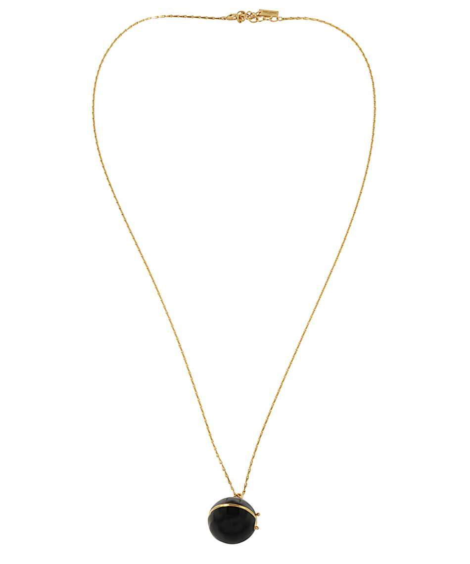 Saint Laurent 632072 Y1521 SPHERE LOCKET BOX PENDANT Necklace 2