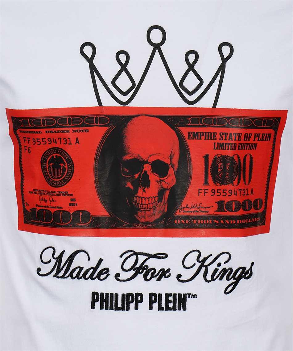 Philipp Plein F20C MTK4607 PJY002N SS DOLLAR Tričko 3