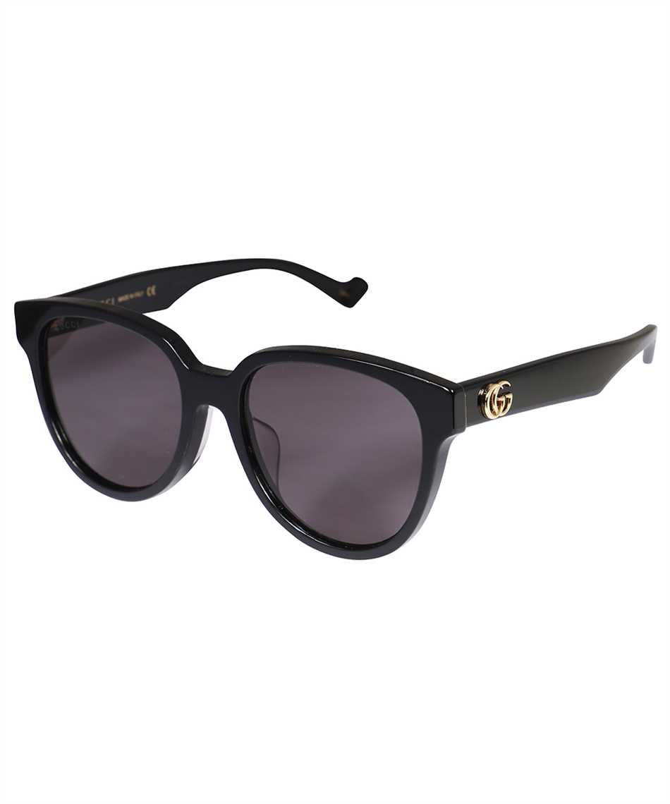 Gucci 663748 J0740 SPECIALIZED FIT ROUND-FRAME Sunglasses 2