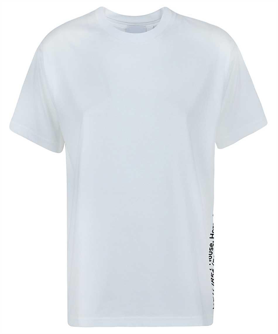 Burberry 8037292 COORDINATES PRINT COTTON OVERSIZED T-Shirt 1