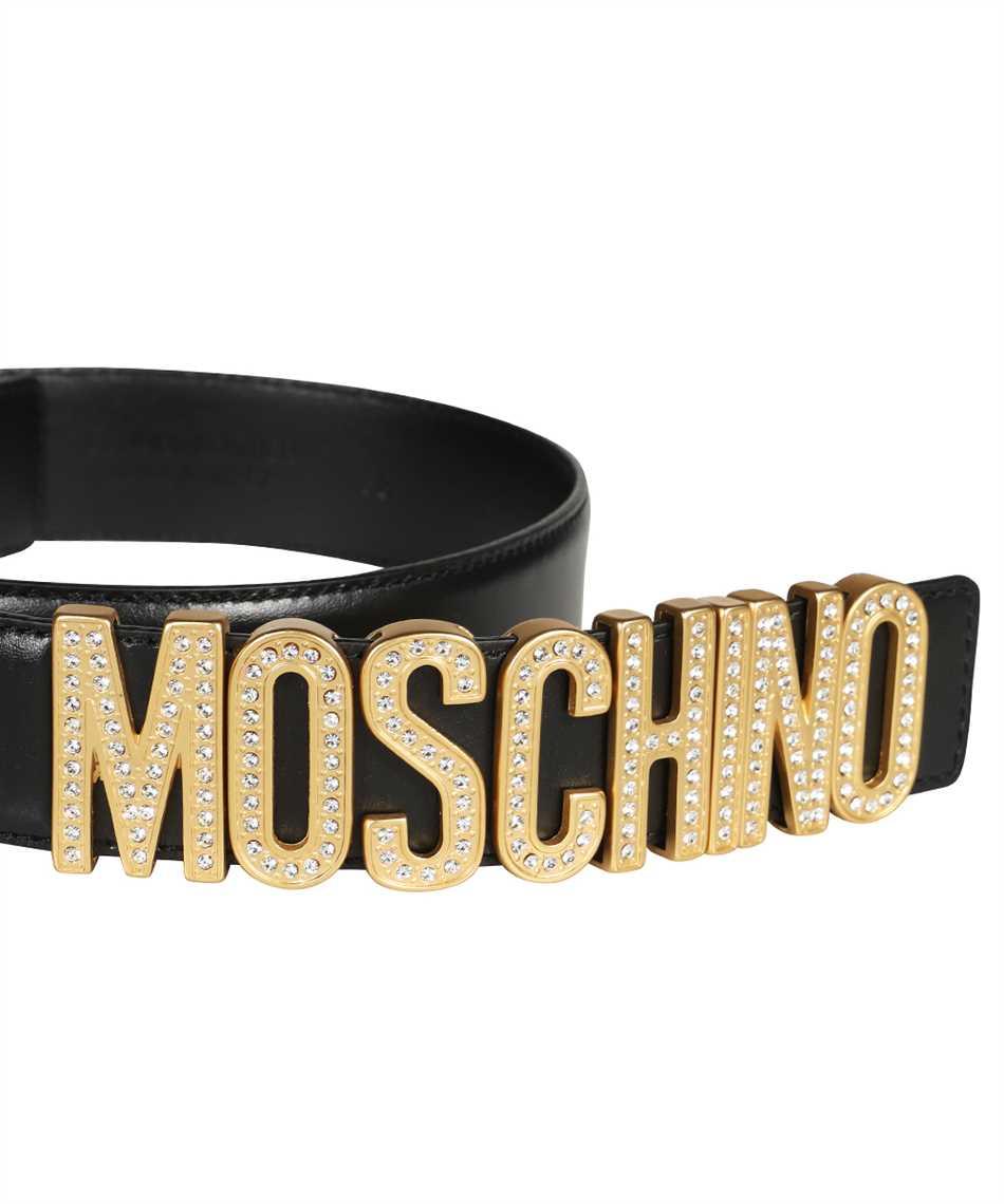 Moschino A8013 8006 RHINESTONES LOGO Belt 3