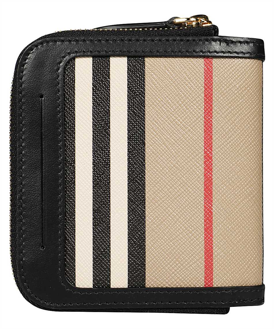 Burberry 8032955 ICON STRIPE E-CANVAS FOLDING Wallet 2