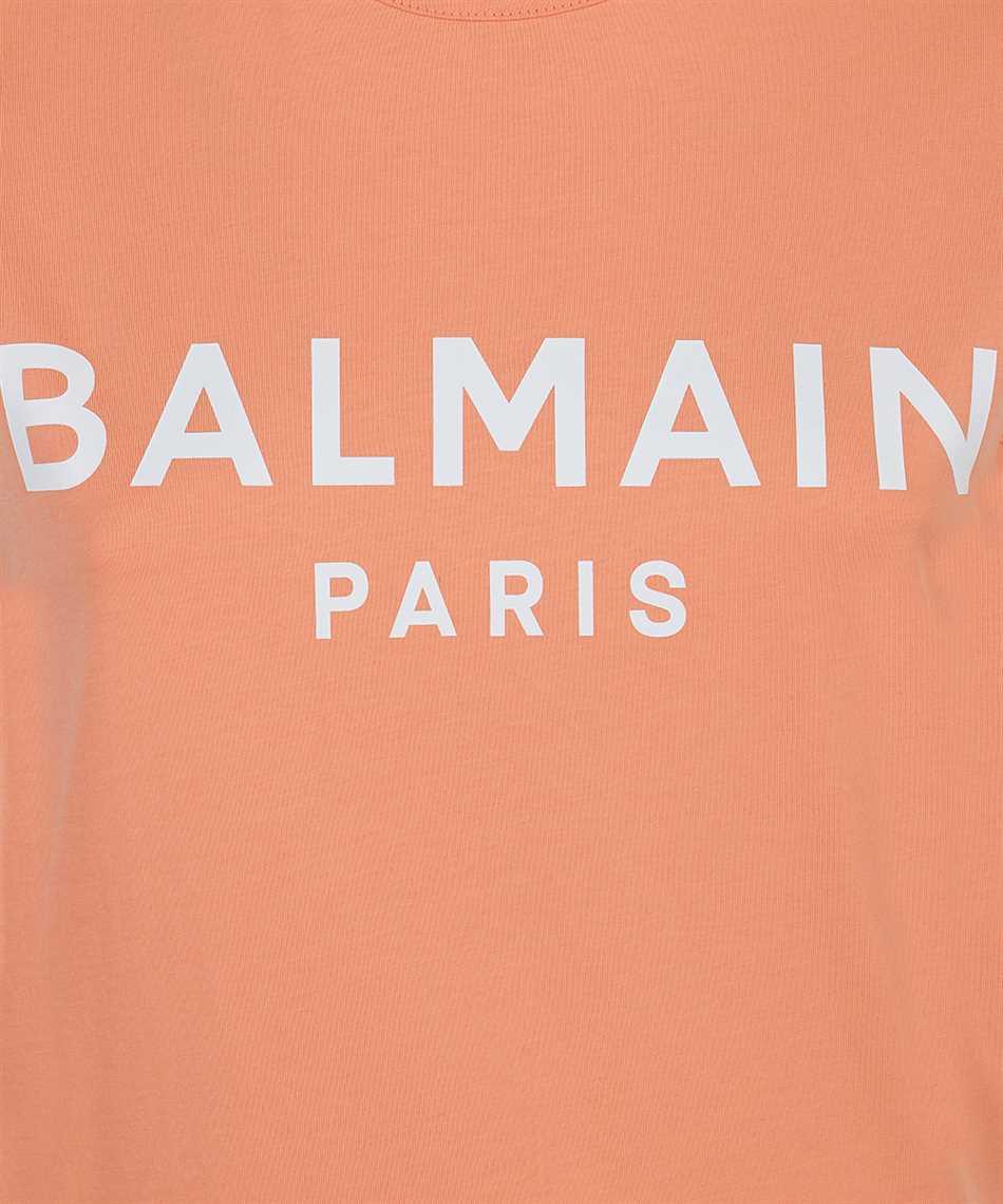 Balmain VF11000B001 LOGO PRINT T-shirt 3