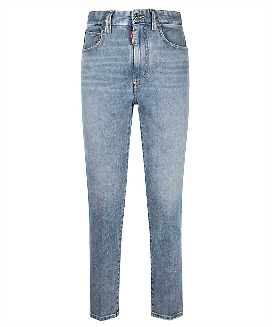 Dsquared2 S75LB0470 S30595 HIGH WAIST CROPPED TWIGGY Jeans 1