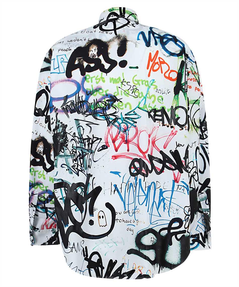 Vetements UE51SH900W ALL-OVER GRAFFITI Shirt 2