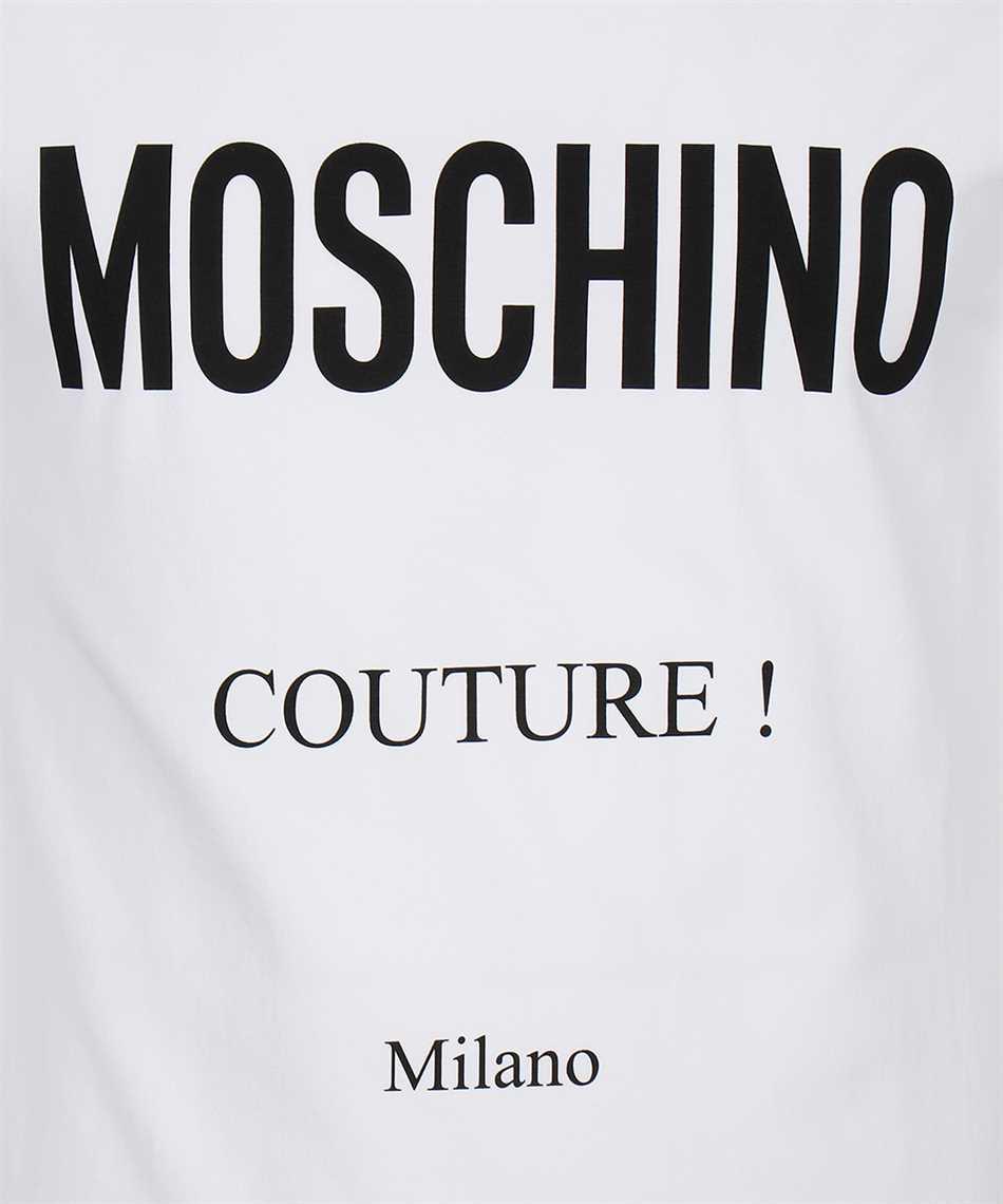 Moschino A0730 2039 MOSCHINO COUTURE PRINT Tričko 3