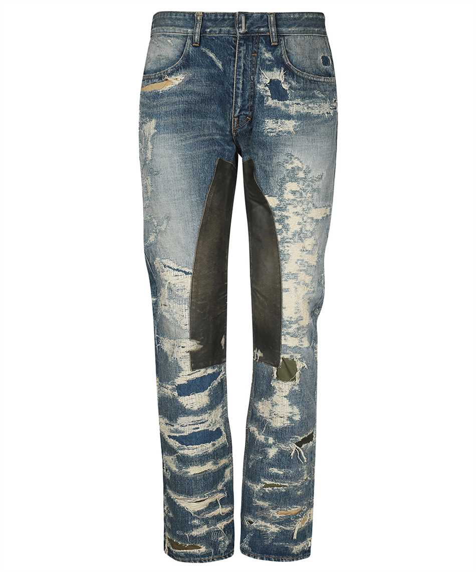 Givenchy BM50VH5Y1B VINTAGE DISTRESS MOLESKIN Jeans 1