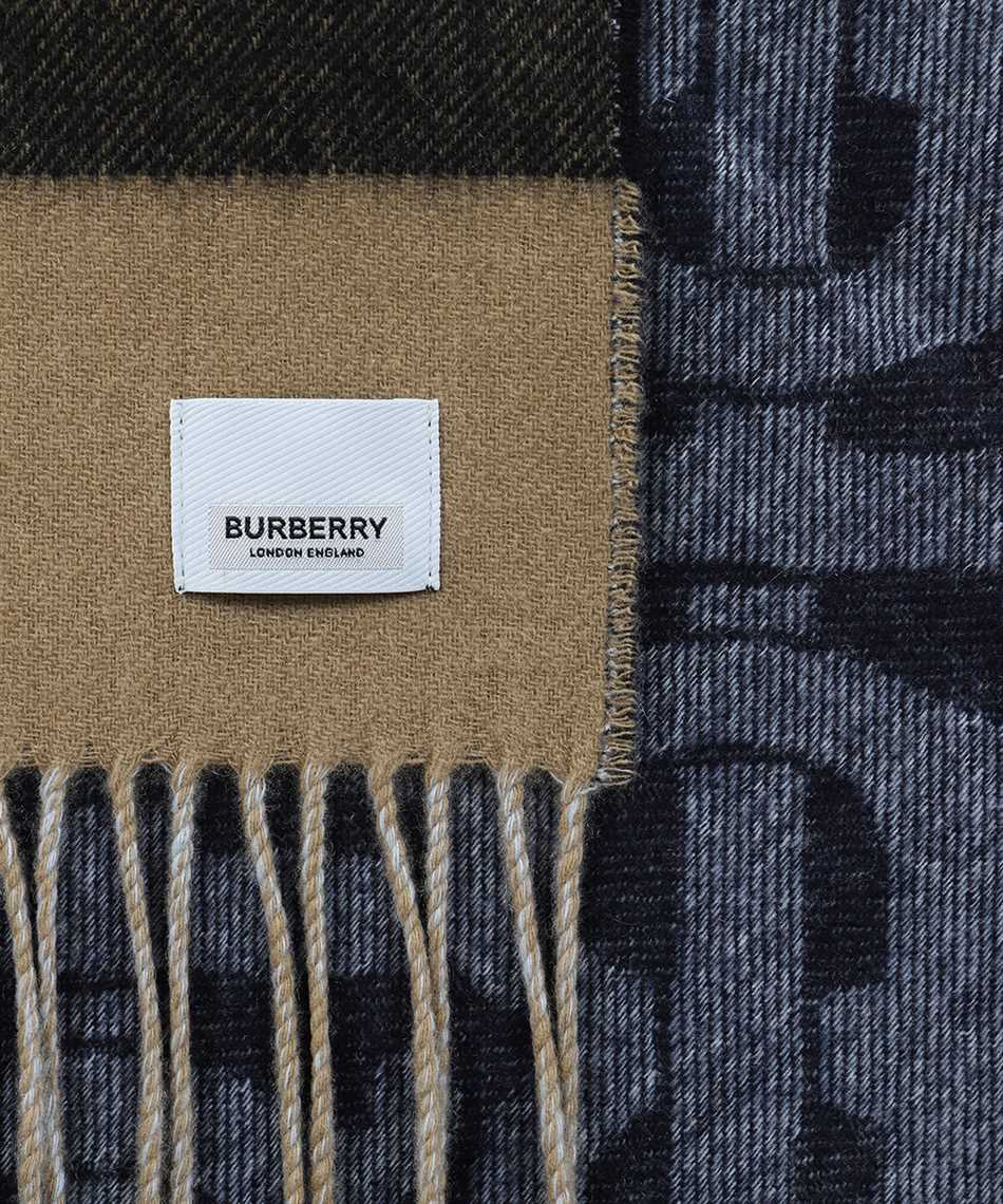 Burberry 8024931 REVERSIBLE CHECK AND MONOGRAM Šál 2