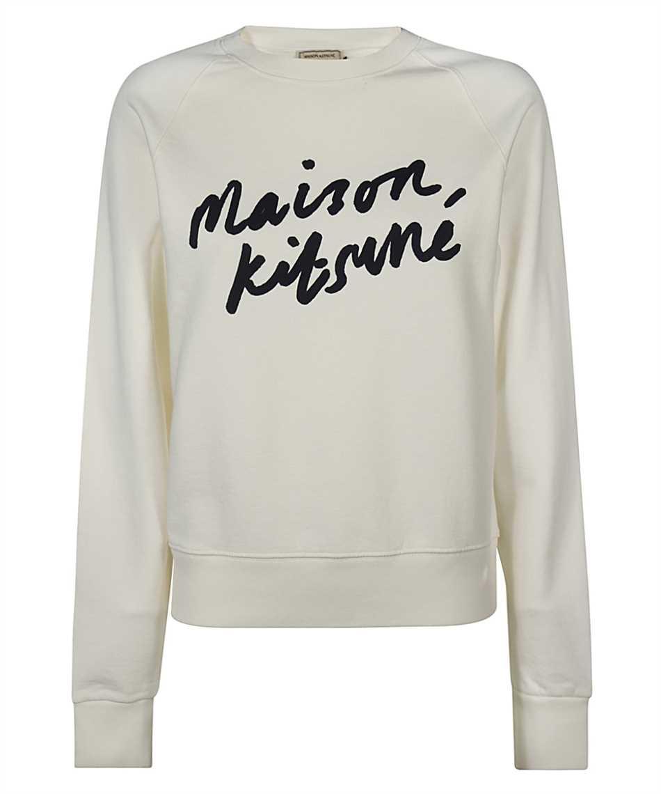 Maison Kitsune FW00335KM0001 HANDWRITING ADJUSTED Sweatshirt 1