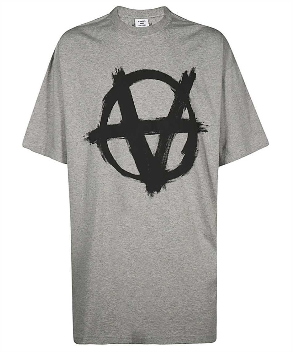 Vetements UE51TR640G ANARCHY GOTHIC LOGO T-shirt 1