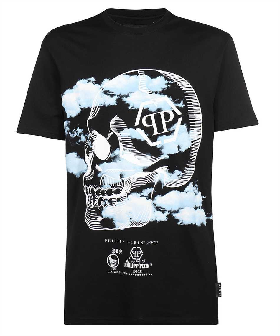 Philipp Plein PAAC MTK5085 ROUND NECK SS CLOUDS T-shirt 1
