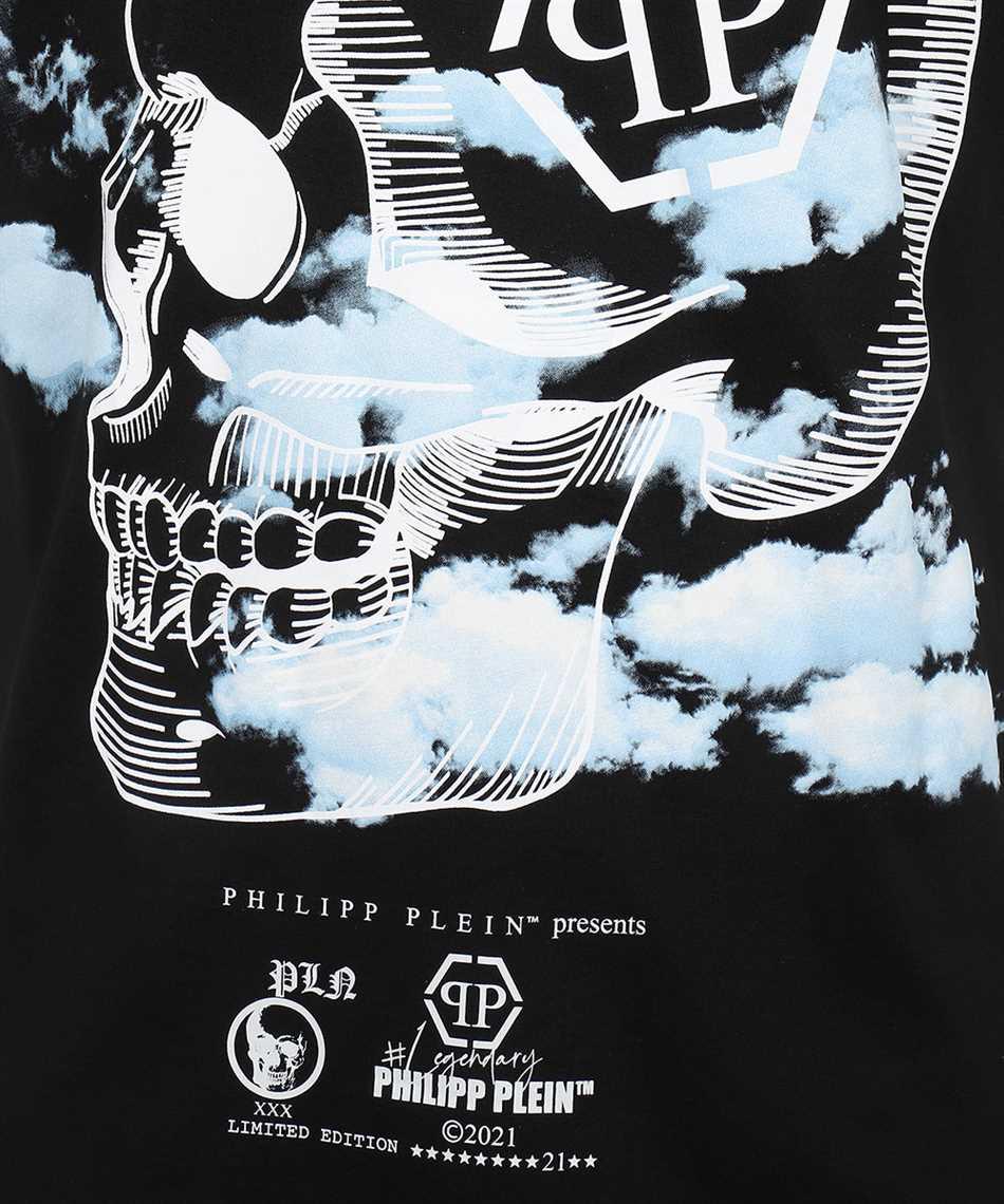 Philipp Plein PAAC MTK5085 ROUND NECK SS CLOUDS T-shirt 3