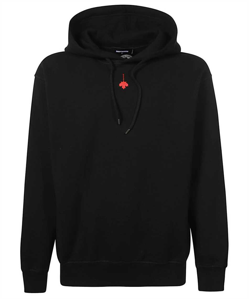 Dsquared2 S71GU0439 S25042 DROPPED LEAF Kapuzen-Sweatshirt 1