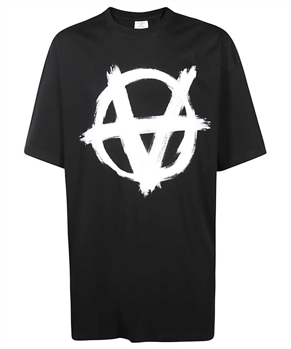 Vetements UE51TR640B ANARCHY GOTHIC LOGO T-Shirt 1