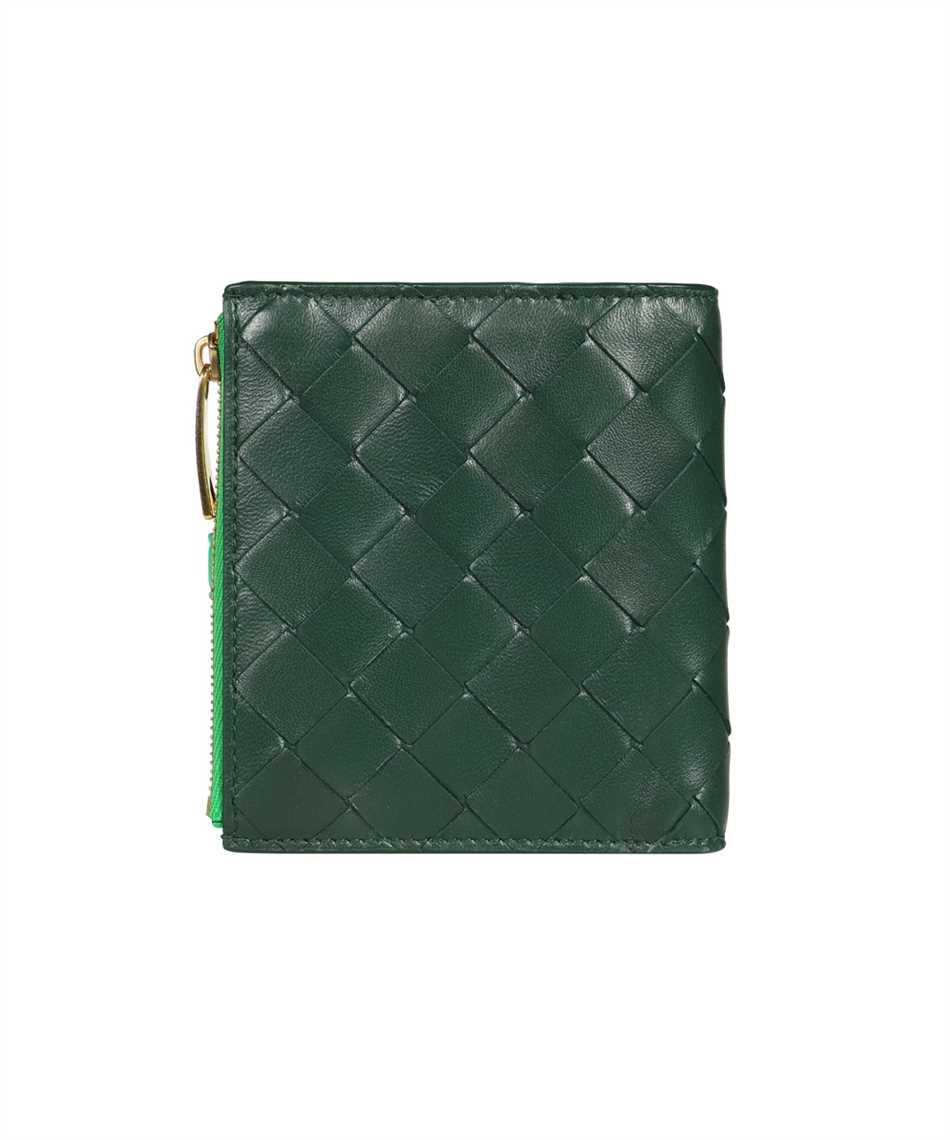 Bottega Veneta 600270 VCPP8 SMALL BI-FOLD ZIP Wallet 2