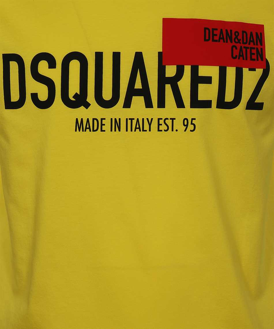 Dsquared2 S71GD1021 S23009 RED FLAG T-shirt 3