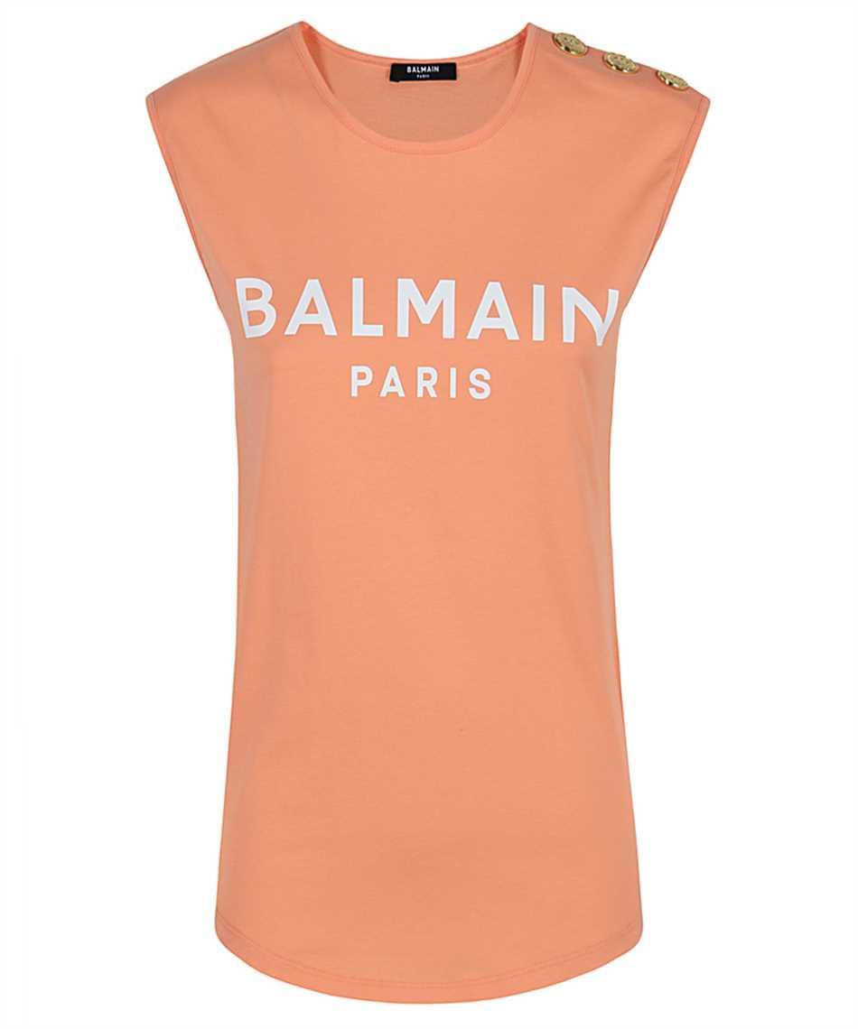 Balmain VF11000B001 LOGO PRINT T-shirt 1
