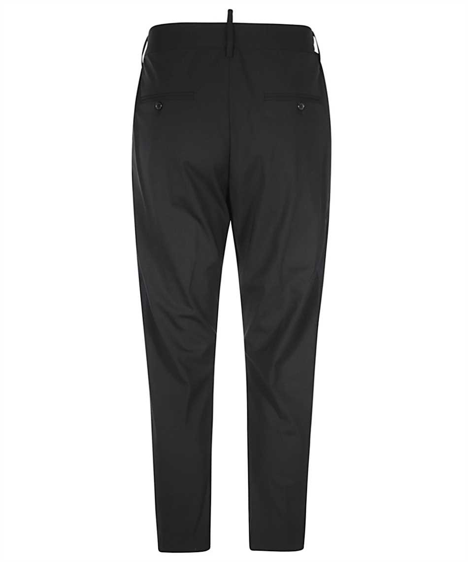 Dsquared2 S74KB0550 S40320 WORSTED STRETCH D2LINE TIDY CARGO Trousers 2