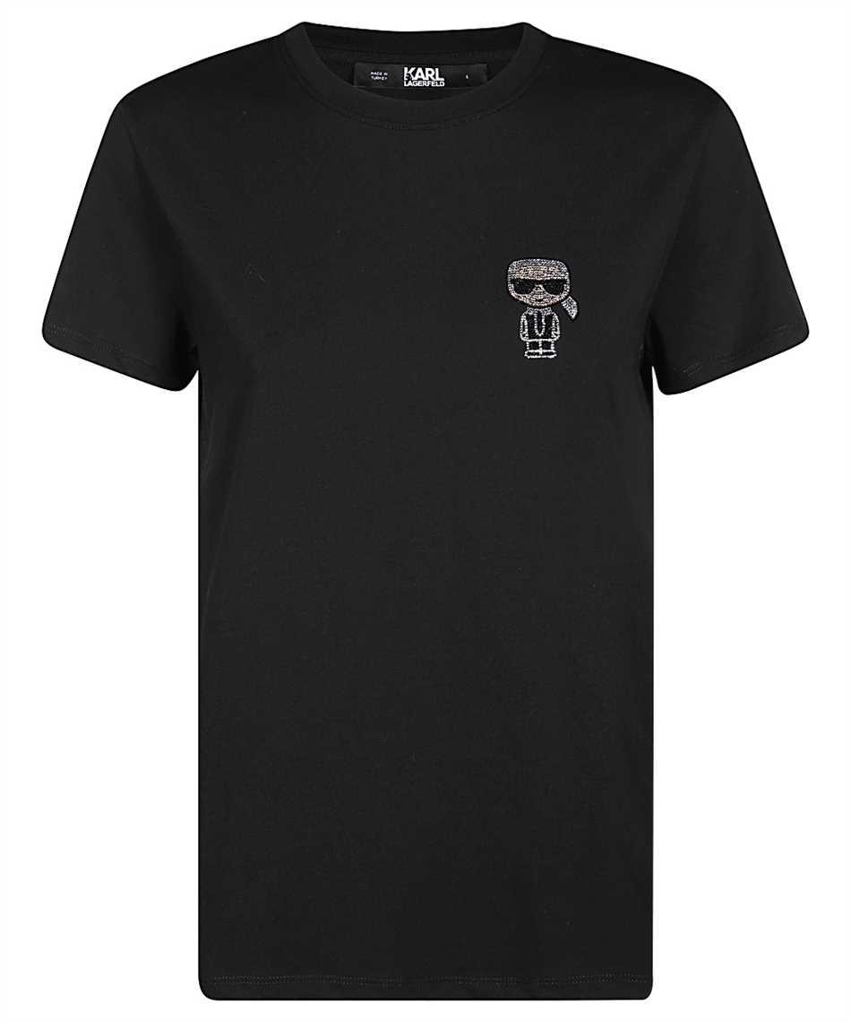 Karl Lagerfeld 206W1713 IKONIK T-shirt 1