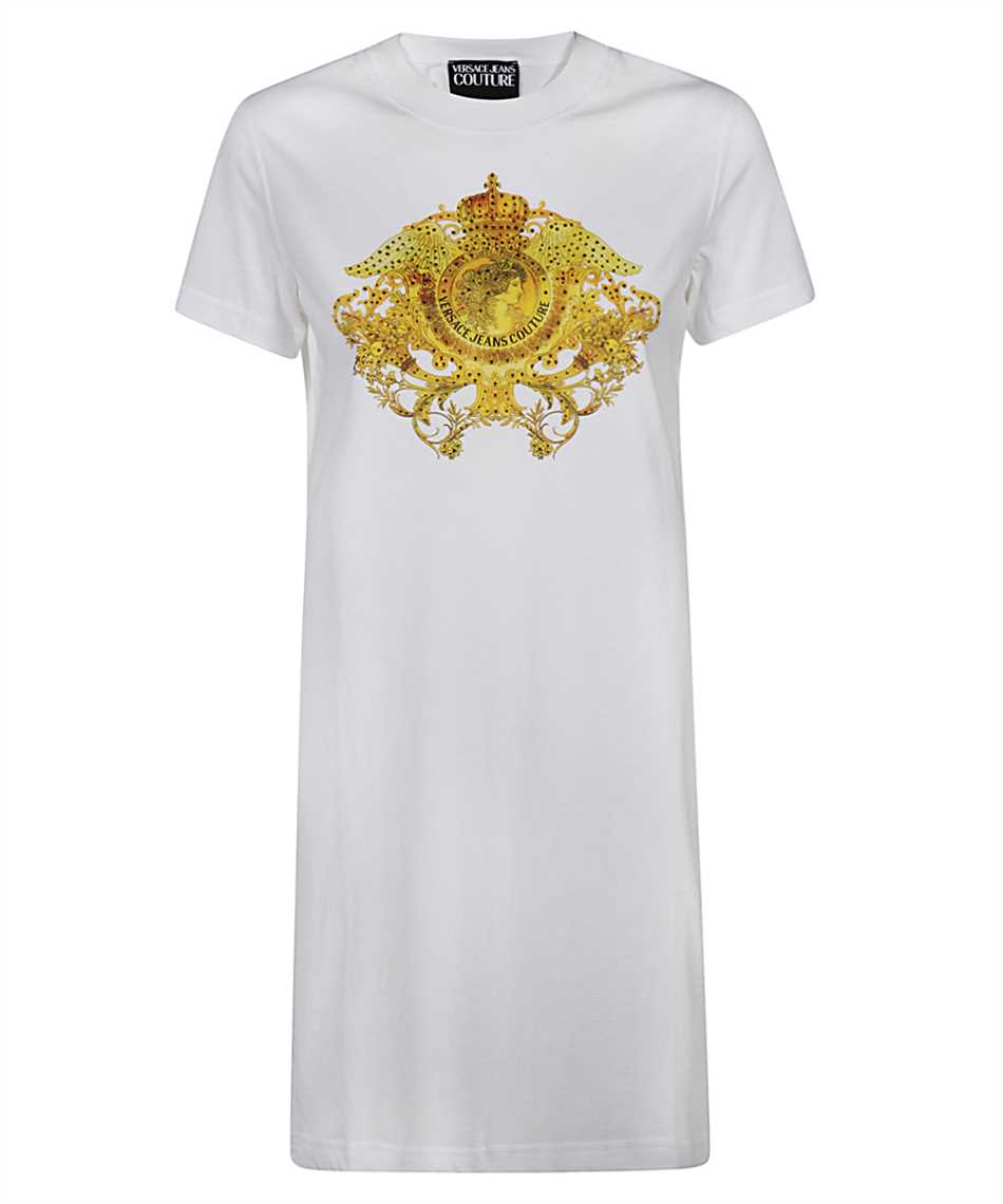 Versace Jeans Couture D2HWA418 11620 CRYSTAL LOGO Dress 1