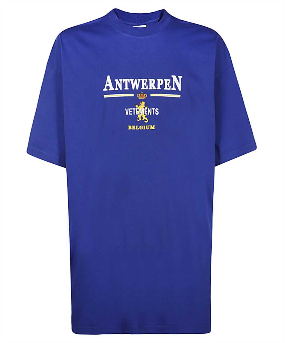 Vetements UE51TR430R ANTWERP LOGO T-Shirt 1