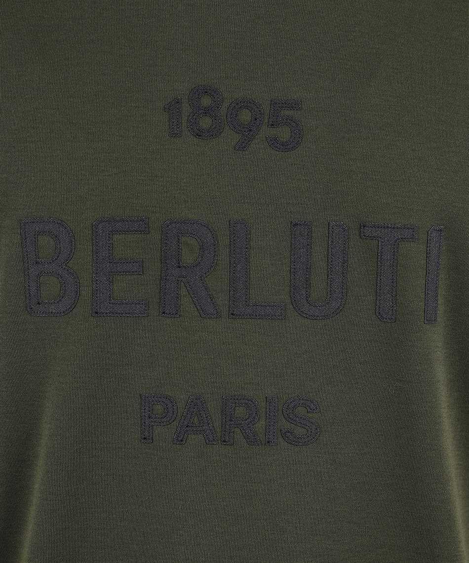 BERLUTI R18JRS50 001 LOGO T-shirt 3