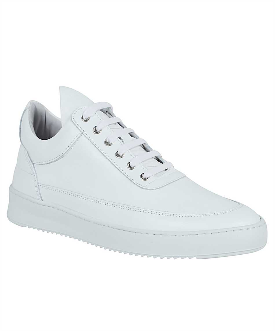 Filling Pieces 25121721855 LOW TOP RIPPLE NAPPA ALL WHITE Tenisky 2