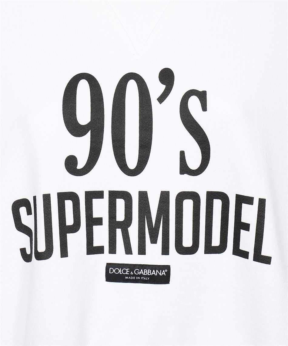 Dolce & Gabbana F9L05T FU7DU 90'S SUPERMODEL Sweatshirt 3