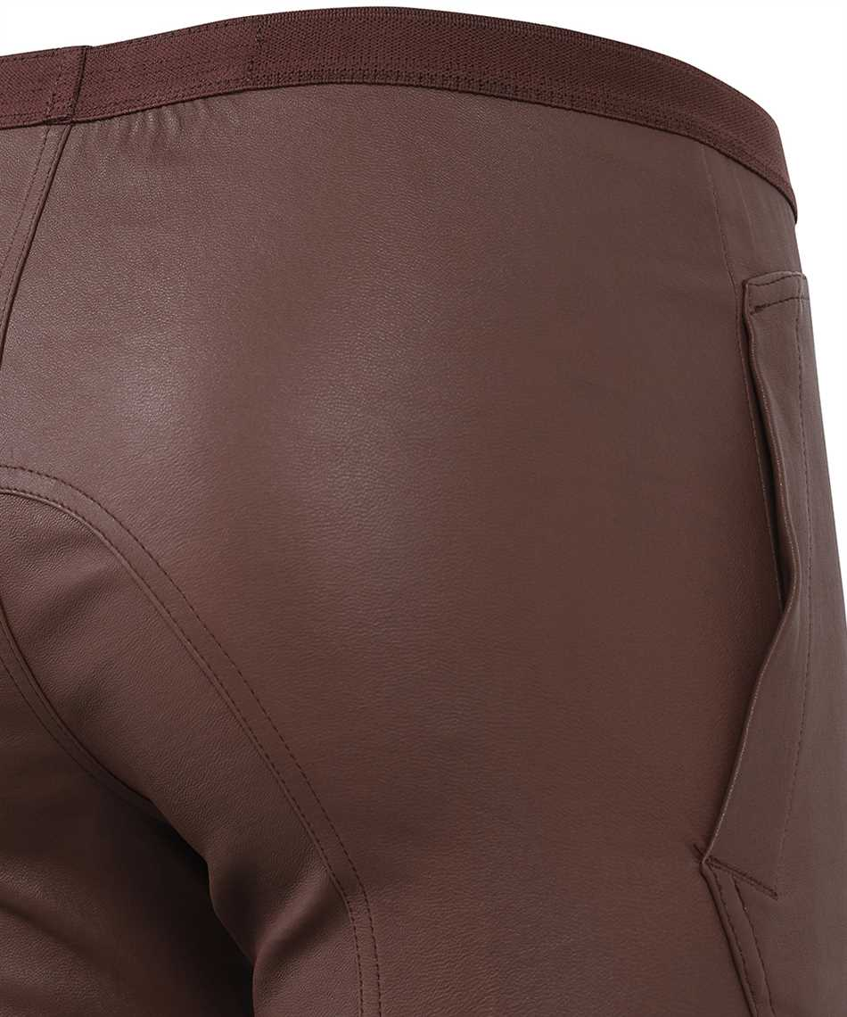 Rick Owens RP21S3319LS SLIM-FIT LEATHER Trousers 3