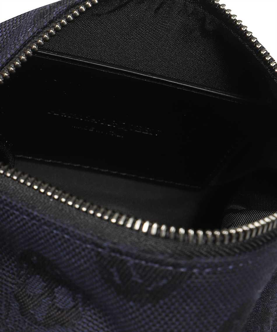 Alexander McQueen 610844 1AAAP BIKER SKULL TRAVEL Bag 3