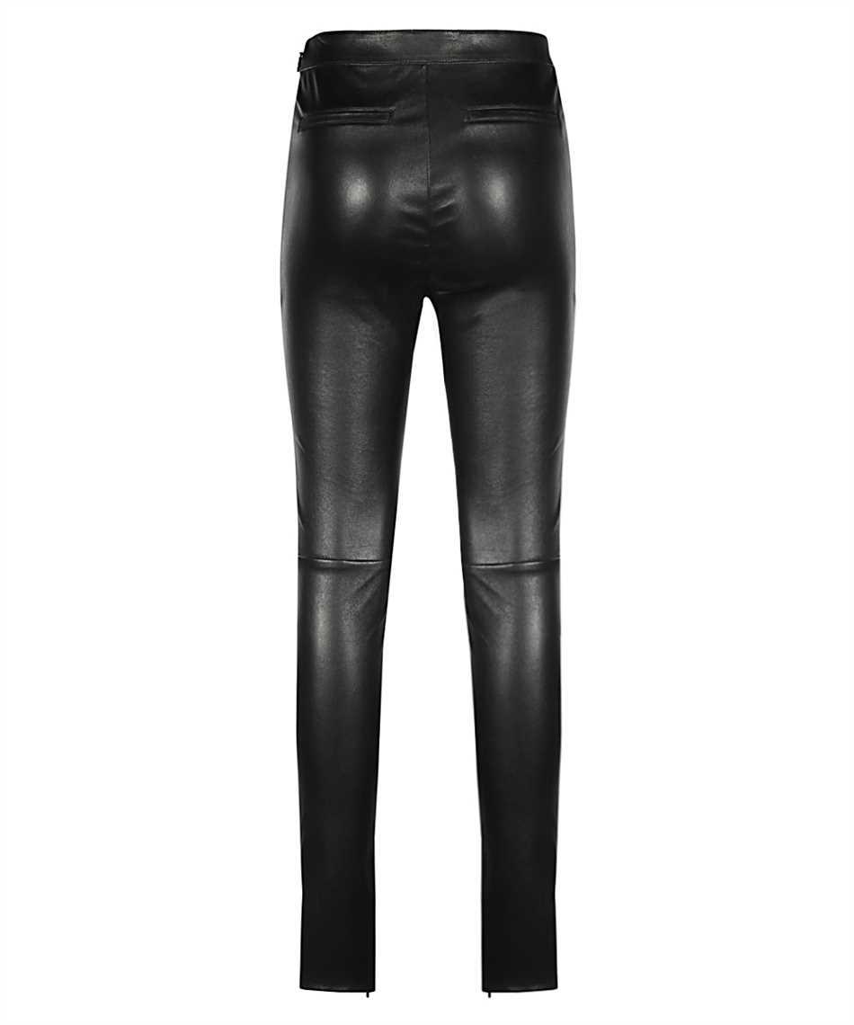 Saint Laurent 640153 Y5RH2 HIGH-RISE STRETCH Trousers 2