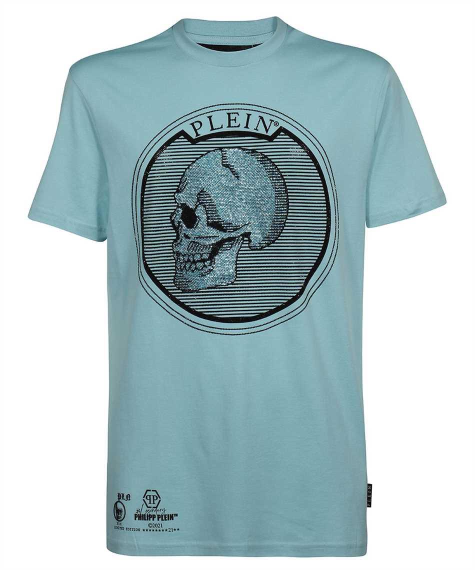 Philipp Plein PAAC UTK0018 ROUND NECK SS OUTLINE SKULL CRYSTAL T-shirt 1
