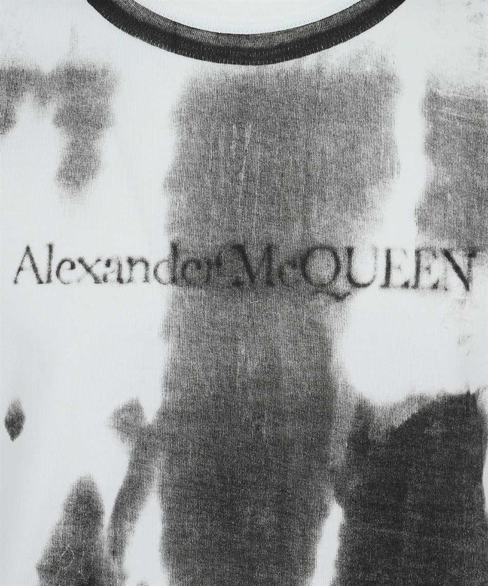 Alexander McQueen 650426 QQZ68 XRAY Tričko 3