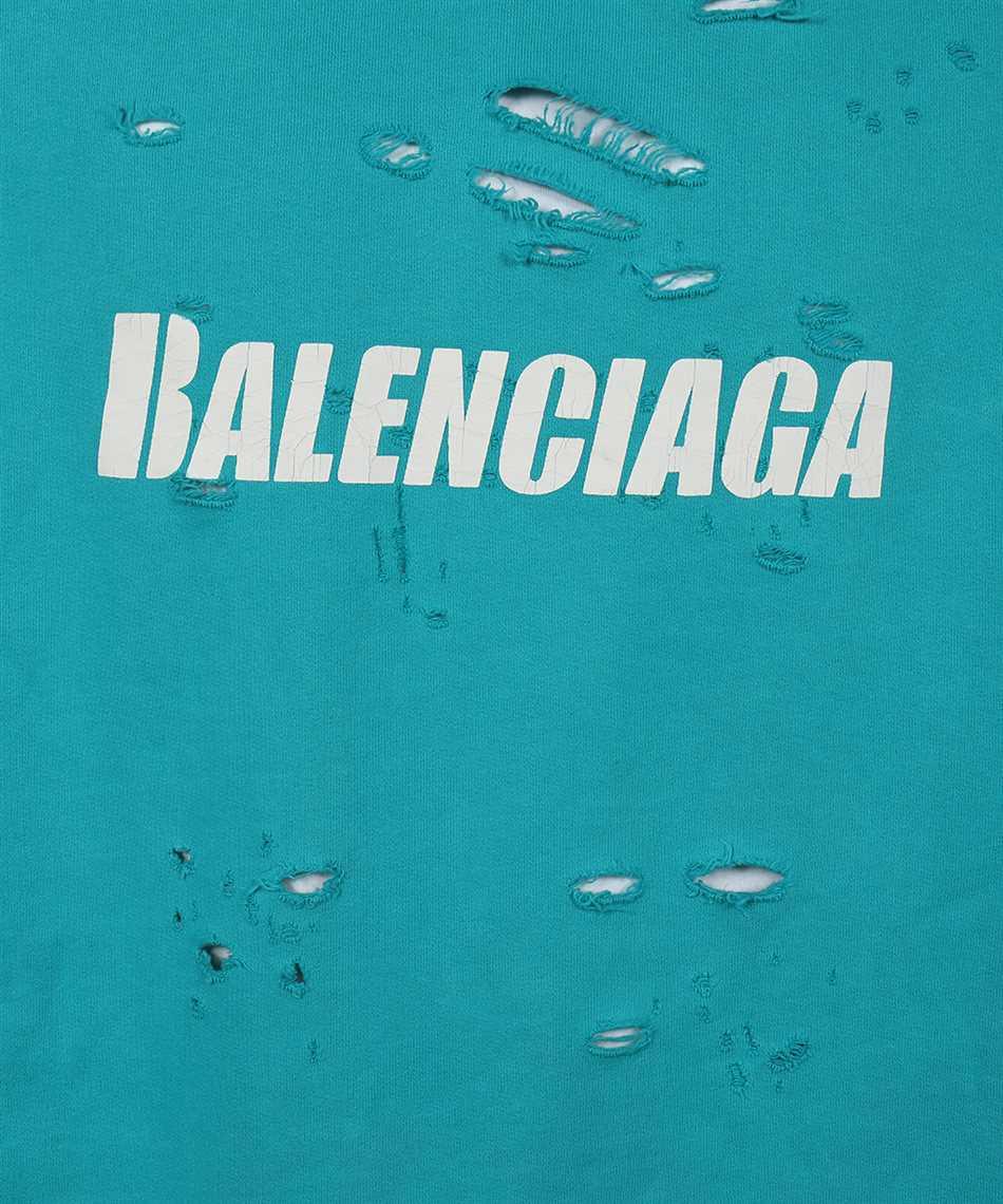 Balenciaga 659403 TKVB6 CAPS DESTROYED Hoodie 3