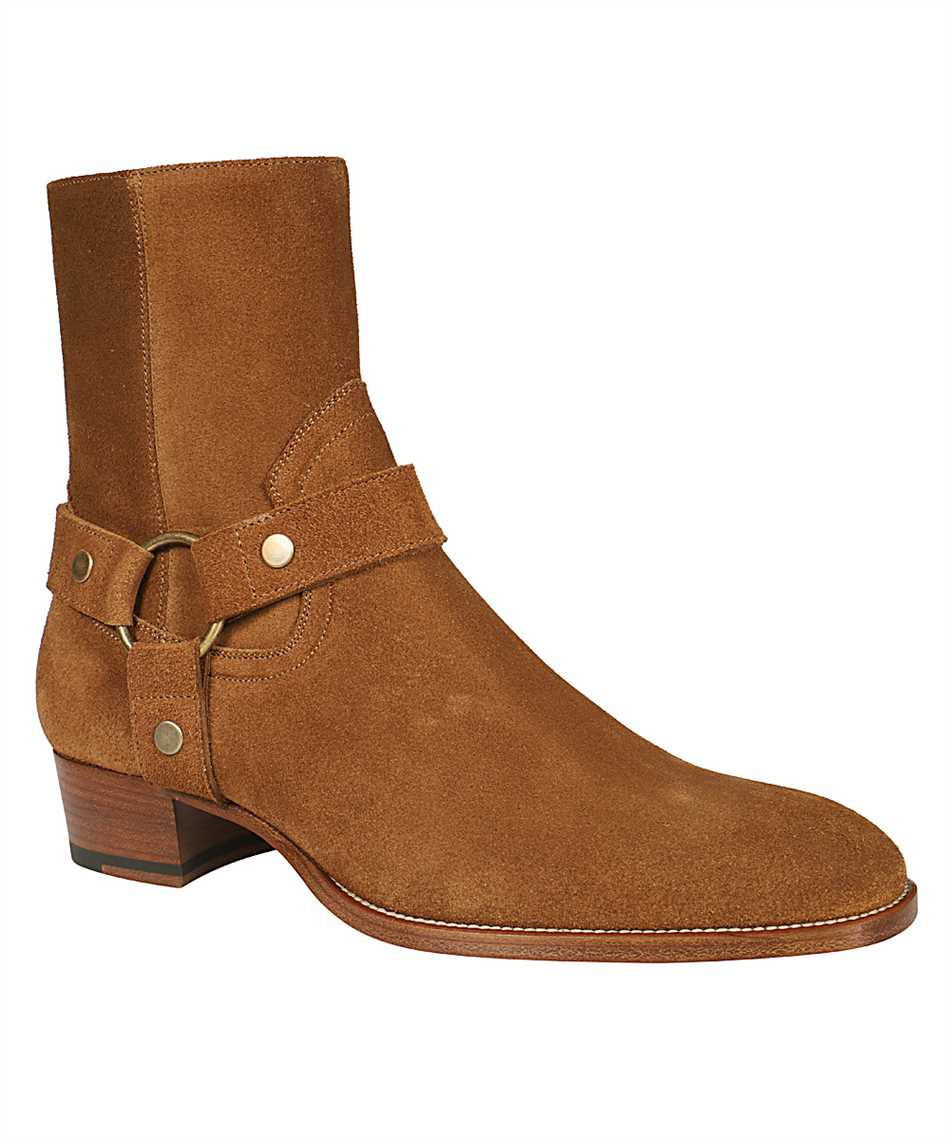 Saint Laurent 443190 BPN00 WYATT HARNESS Boots 2