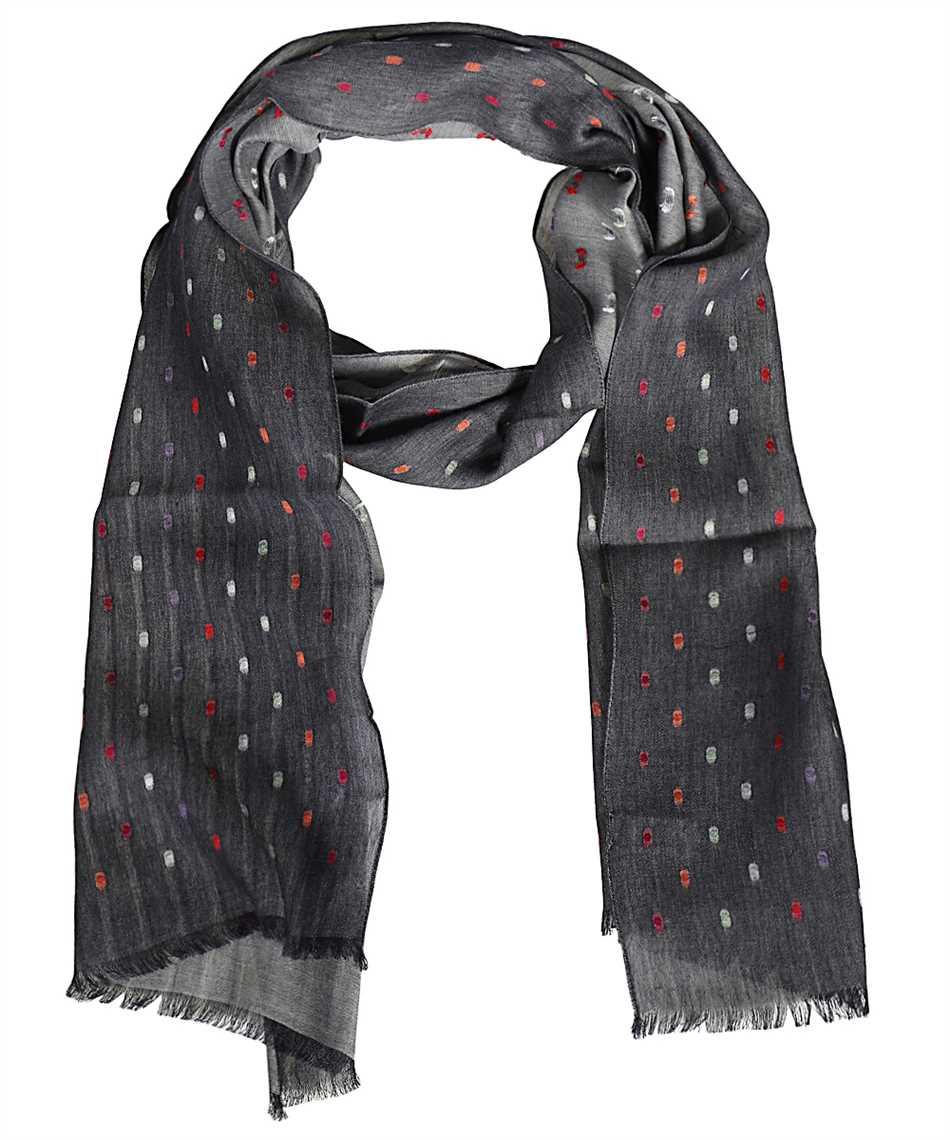 Paul Smith M1A 759F FS28 RAINBOW SPOT Scarf 1