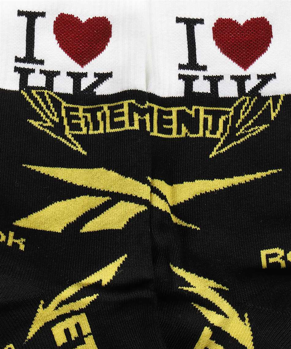 Vetements UE51SO300B HK CUT-UP LOGO Socks 2