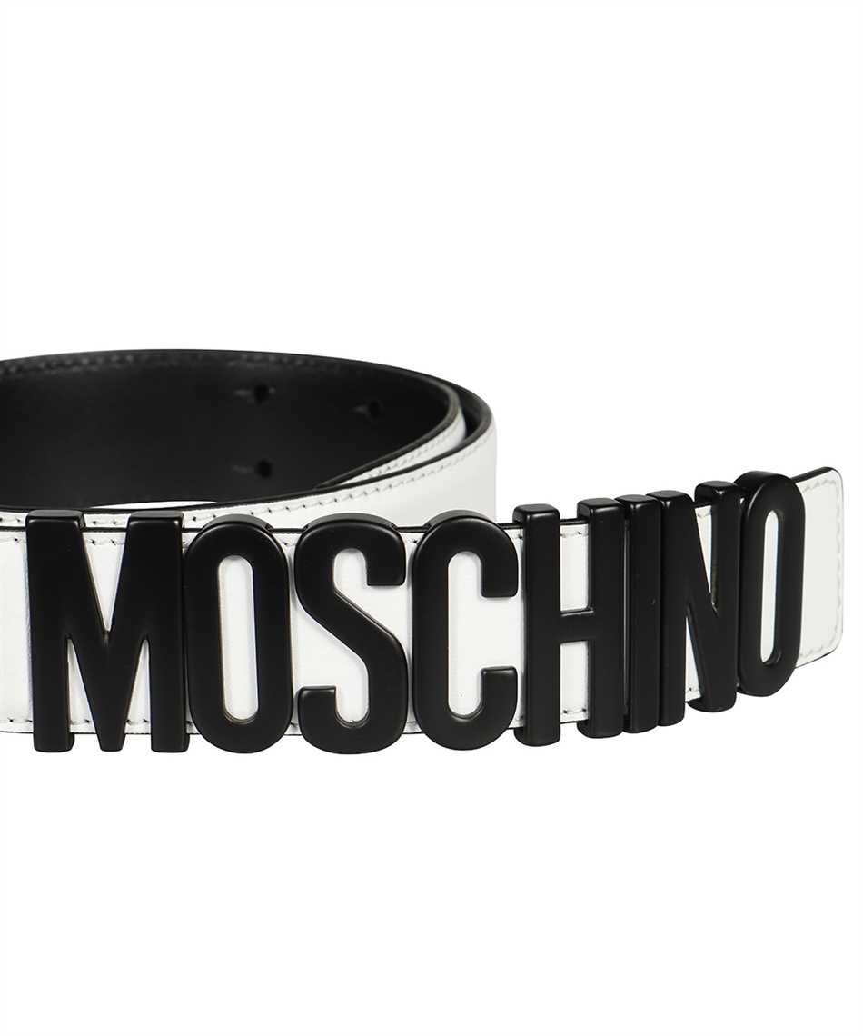 Moschino A8014 8001 LETTERING LOGO Gürtel 3