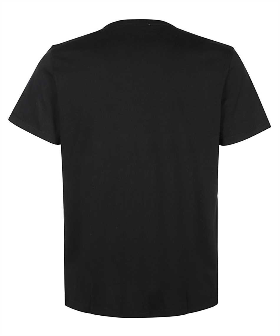 Maison Kitsune AM00103KJ0008 FOX HEAD PATCH CLASSIC T-Shirt 2