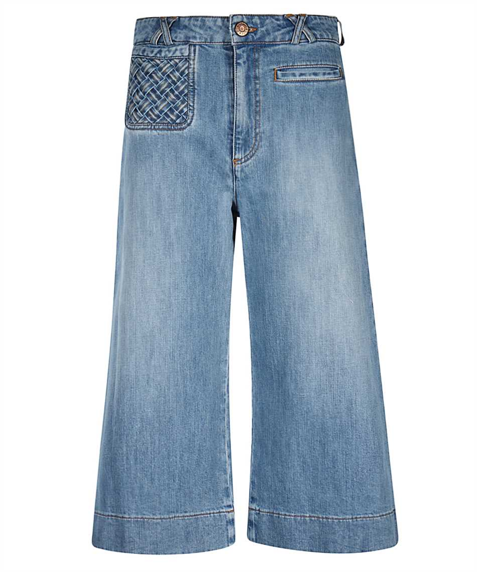 See By Chloè CHS21SDP02150 SIGNATURE JEAN Shorts 1