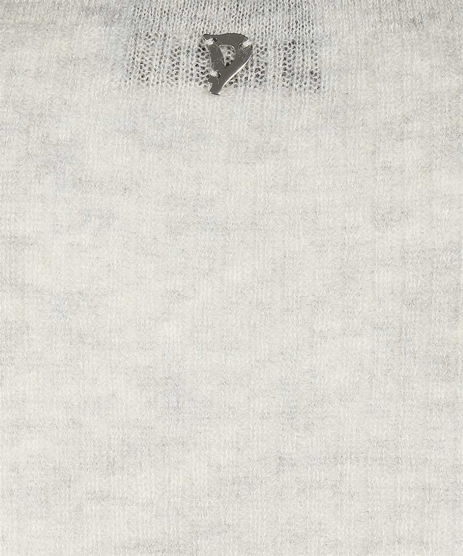 Don Dup DT021 M00748D 002 HENLEY Knit 3